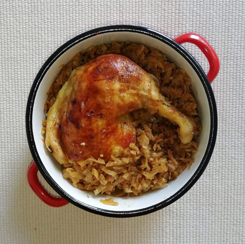 sauerkraut recipe with chicken