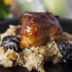 sauerkraut with turkey