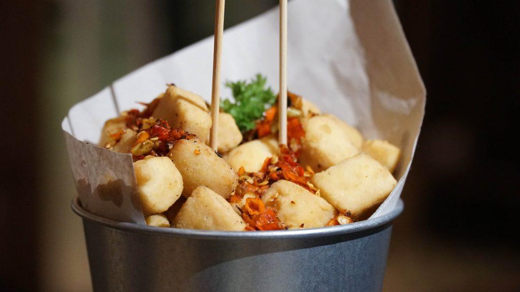 how to fry tofu