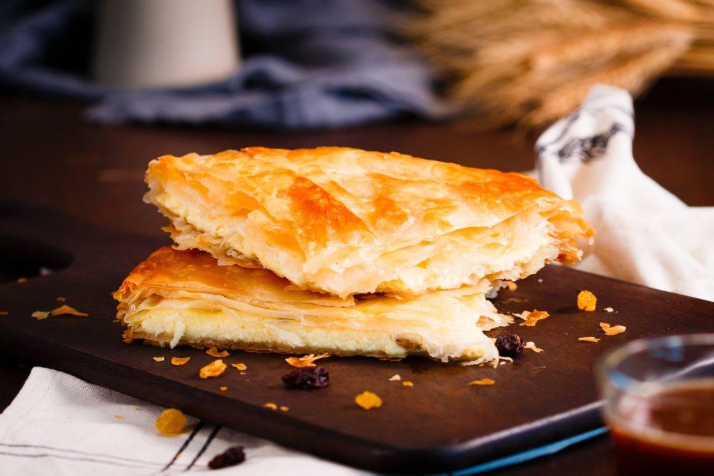 reci[es with phyllo dough
