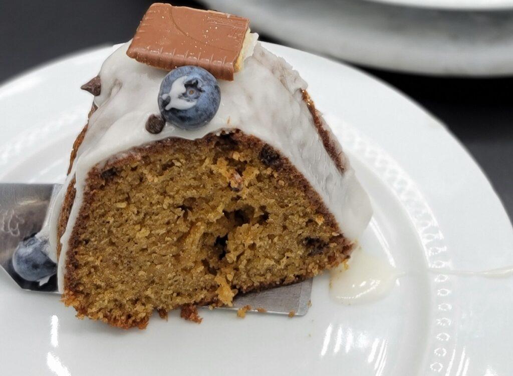 chocolate chip spice cake